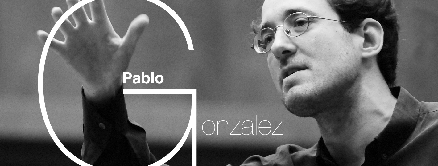 Pablo Gonzalez, Conductor toppage